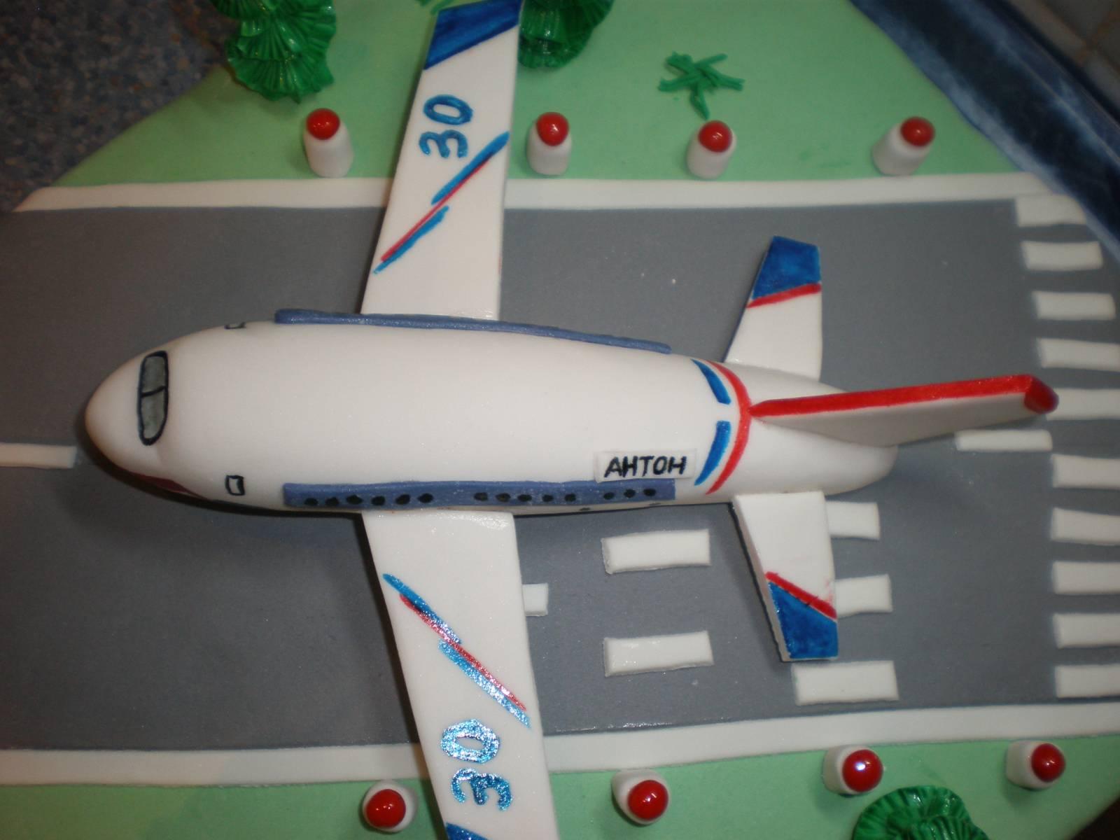 Торт самолет пошагово фото